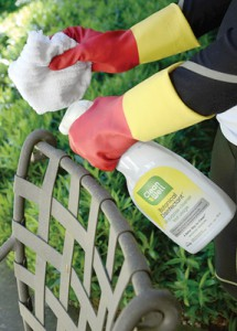 Using eco-friendly cleaning supplies is good for the environment.