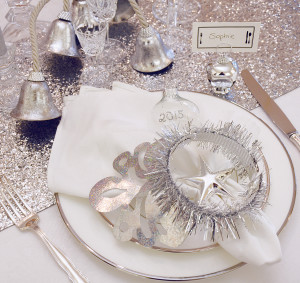 New Years Place Setting